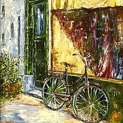 Картины и панно handmade. Livemaster - original item Oil painting Old shop. Handmade.