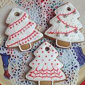 Сувениры и подарки ручной работы. Ярмарка Мастеров - ручная работа Имбирное печенье. Handmade.