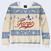 """Одежда ручной работы. Ярмарка Мастеров - ручная работа Свитшот """"Фарго"""". Handmade."""