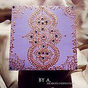 Для дома и интерьера ручной работы. Ярмарка Мастеров - ручная работа Восточная шкатулка для хранения деревянная шкатулка. Handmade.