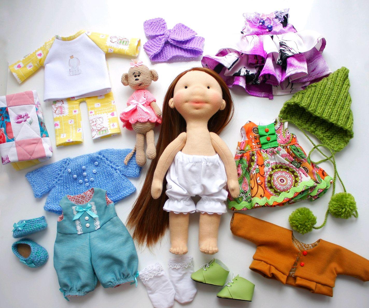 Кукла со съемной одеждой, Игрушки, Москва, Фото №1