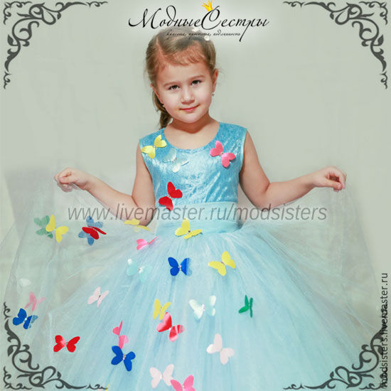 "Baby dress ""Butterfly"" Art.-354, Dress, Nizhny Novgorod,  Фото №1"