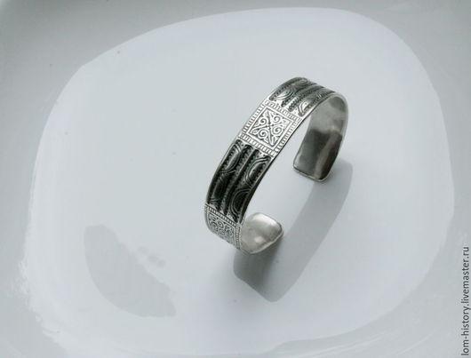 Булгарский браслет из серебра. Можно приобрести браслет из латуни (700 р.)