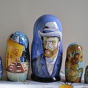 Русский стиль handmade. Livemaster - original item Dolls: Van Gogh Self-Portrait. Handmade.
