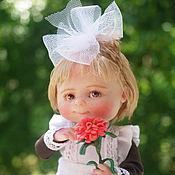 Куклы и пупсы ручной работы. Ярмарка Мастеров - ручная работа Наташка-первоклашка. Handmade.