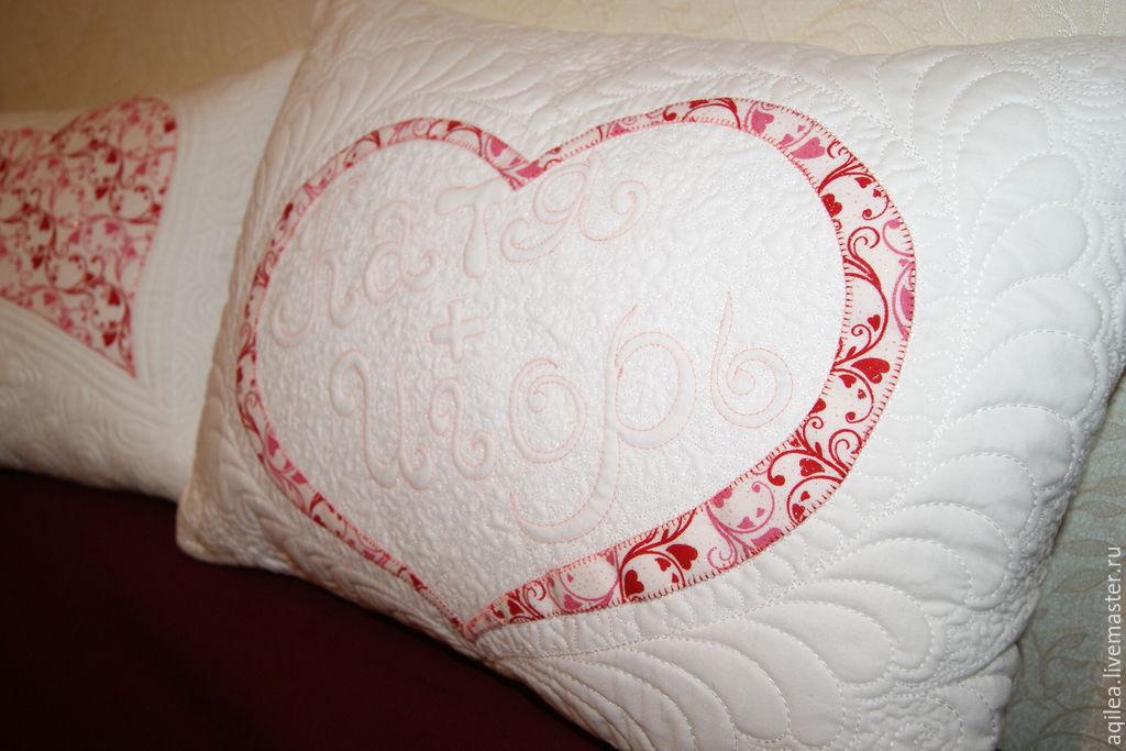 Подушка на свадьбу