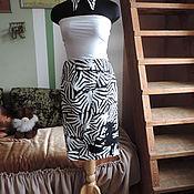 Одежда ручной работы. Ярмарка Мастеров - ручная работа Чёрно-белая зебра.. Handmade.