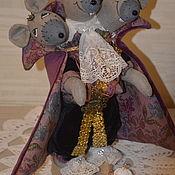 Мягкие игрушки ручной работы. Ярмарка Мастеров - ручная работа Мышиный Король!. Handmade.