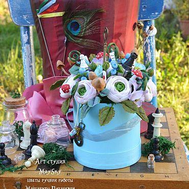 Flowers and floristry handmade. Livemaster - original item Hatbox