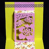 """Открытки ручной работы. Ярмарка Мастеров - ручная работа Открытка """"Бабочки"""". Handmade."""
