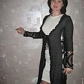 Одежда ручной работы. Ярмарка Мастеров - ручная работа Паутиновый ажур. Handmade.