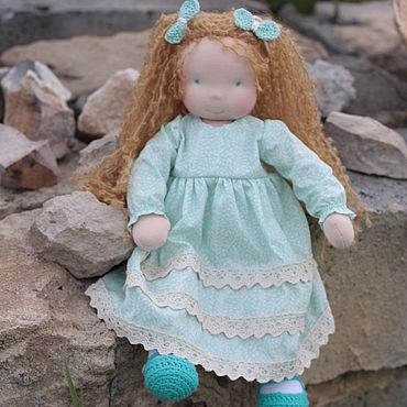 Куклы и игрушки ручной работы. Ярмарка Мастеров - ручная работа Вальдорфская кукла Амелия 38 см. Handmade.