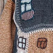 """Одежда ручной работы. Ярмарка Мастеров - ручная работа Свитер мужской из серии """"Окна Хундертвассера"""" цвет 1. Handmade."""