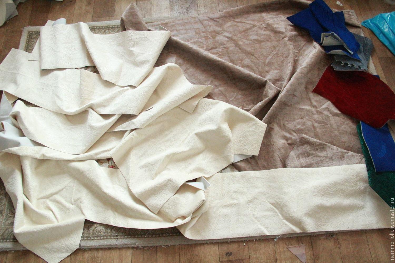 Купить лоскуты мебельной ткани