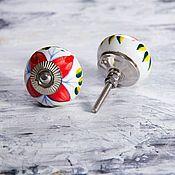 Для дома и интерьера ручной работы. Ярмарка Мастеров - ручная работа Расписные ручки для мебели. Handmade.