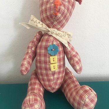 Куклы и игрушки ручной работы. Ярмарка Мастеров - ручная работа Игрушки: Медвежонок Берта. Handmade.