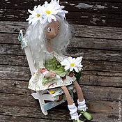 Куклы и игрушки ручной работы. Ярмарка Мастеров - ручная работа Текстильная кукла Ромашка. Handmade.