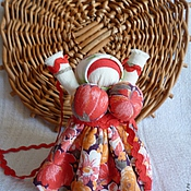 """Куклы и игрушки ручной работы. Ярмарка Мастеров - ручная работа Народная кукла-оберег """"Радостея(Благодать)"""" Солнечная. Handmade."""