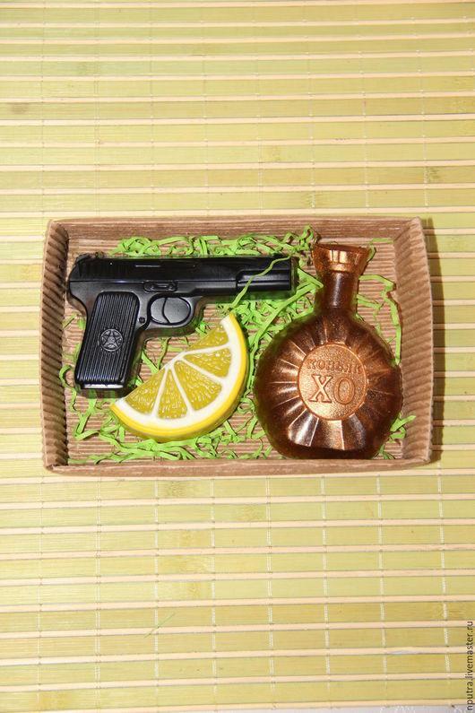 Мыло ручной работы. Ярмарка Мастеров - ручная работа. Купить Набор мыла на 23 февраля. Handmade. Черный, набор, смартфон