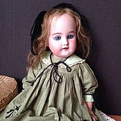 Одежда для кукол ручной работы. Ярмарка Мастеров - ручная работа Комплект одежды с бельем для антикварной куклы ростом 43 см. Handmade.