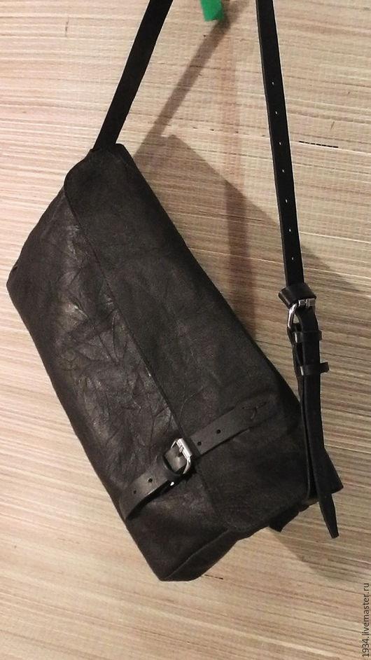 Женские сумки ручной работы. Ярмарка Мастеров - ручная работа. Купить сумка женская COBRA-2. Handmade. Черный