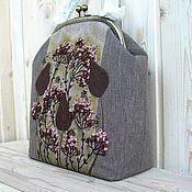 Сумки и аксессуары handmade. Livemaster - original item Bag with clasp: WARM EVENING Beige. Handmade.