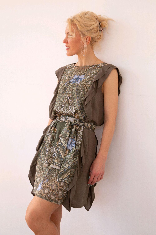 Платье хаки, Платья, Химки,  Фото №1