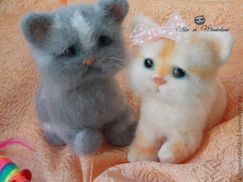 """Котята """"Анфисочка и Филька"""", Мягкие игрушки, Самара,  Фото №1"""