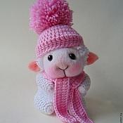 Куклы и игрушки ручной работы. Ярмарка Мастеров - ручная работа овечка Эмми, 11 см. Handmade.