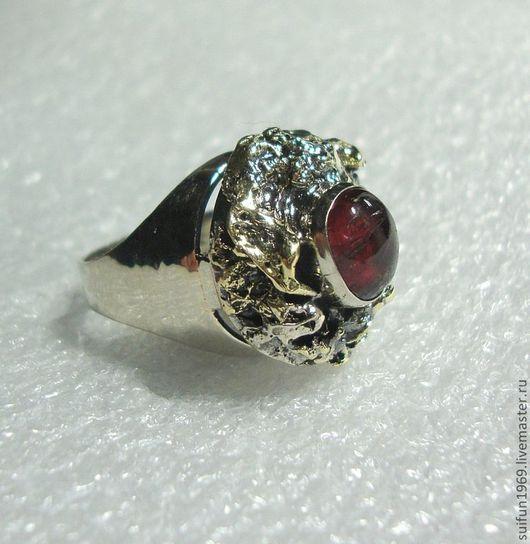 """Кольца ручной работы. Ярмарка Мастеров - ручная работа. Купить Перстень """"Ренессанс"""" с турмалином.. Handmade. Самоцветы, авторская ручная работа"""