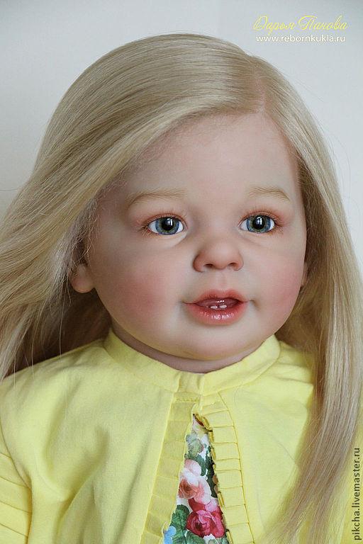 Куклы-младенцы и reborn ручной работы. Ярмарка Мастеров - ручная работа. Купить Весна. Handmade. Желтый, винил