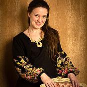Одежда ручной работы. Ярмарка Мастеров - ручная работа Блузка Цветочки. Handmade.
