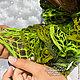 Шарфы и шарфики ручной работы. Заказать Шарфик ажурный «Травяной». Семейное ателье ,,Петровская эпоха,. Ярмарка Мастеров. Ажурный шарф