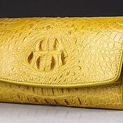 Сумки и аксессуары handmade. Livemaster - original item Wallet female crocodile IMA0004Y11. Handmade.