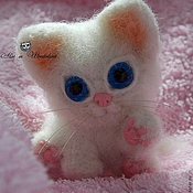 Куклы и игрушки ручной работы. Ярмарка Мастеров - ручная работа Котёнок Катет))). Handmade.