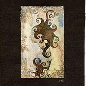 """Картины и панно ручной работы. Ярмарка Мастеров - ручная работа Акварель """"Осень"""". Handmade."""