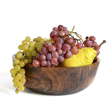 Посуда ручной работы. Ярмарка Мастеров - ручная работа Салатник из древесины ореха. Посуда из дерева. Handmade.