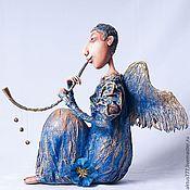 """Подарки к праздникам ручной работы. Ярмарка Мастеров - ручная работа """"Ангел дождя"""", авторская печать. Handmade."""