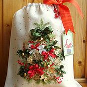 Мешочки для новогодних подарков