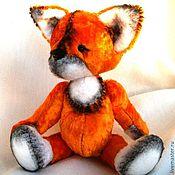 Куклы и игрушки ручной работы. Ярмарка Мастеров - ручная работа Плюшевый  лисенок Рыжик. Handmade.