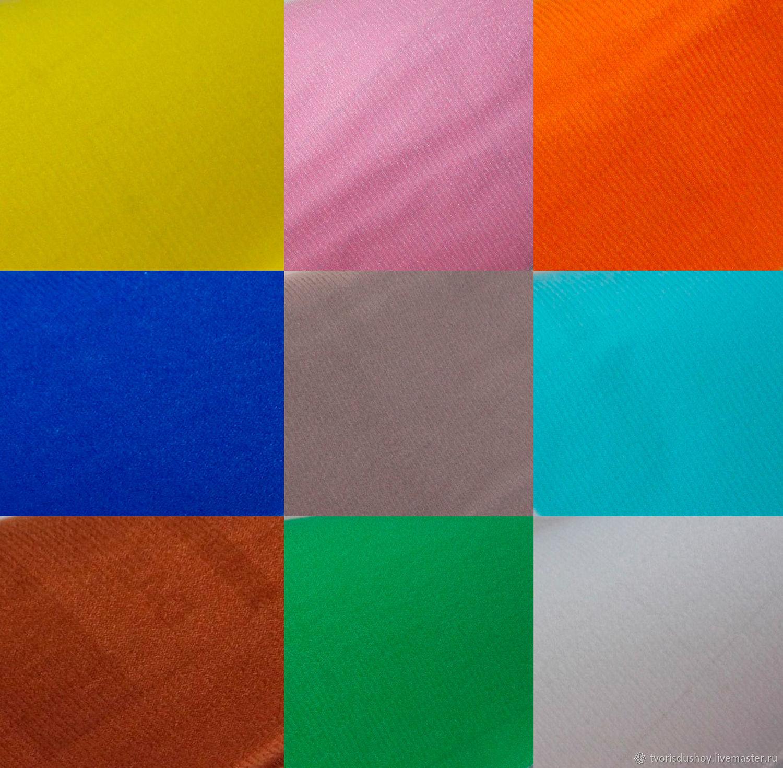 Велкроткань на клеевом слое 9 цветов, Ткань, Барнаул, Фото №1