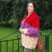Одежда ручной работы. Ярмарка Мастеров - ручная работа Кардиган или вязаное пальто .. Handmade.