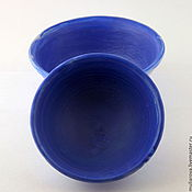 Посуда ручной работы. Ярмарка Мастеров - ручная работа Пиалы сине-белые. Handmade.