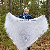 Аксессуары handmade. Livemaster - original item Shawls: Down shawl
