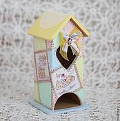 Для дома и интерьера ручной работы. Ярмарка Мастеров - ручная работа Чайный домик Пэчворк. Handmade.