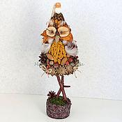 Подарки к праздникам ручной работы. Ярмарка Мастеров - ручная работа Новогодняя елка Сова. Handmade.