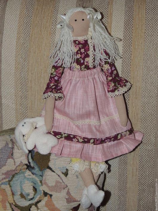 Куклы Тильды ручной работы. Ярмарка Мастеров - ручная работа. Купить Кукла Тильда. Handmade. Белый, кукла для дома, хендмейд