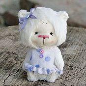 Куклы и игрушки ручной работы. Ярмарка Мастеров - ручная работа Маленькая мишка-девочка. Handmade.
