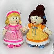 """Куклы и игрушки ручной работы. Ярмарка Мастеров - ручная работа вязаные куклы """"Анабель и Пинелопа"""". Handmade."""