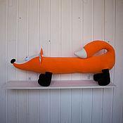 Для дома и интерьера ручной работы. Ярмарка Мастеров - ручная работа Лиса подушка. Handmade.